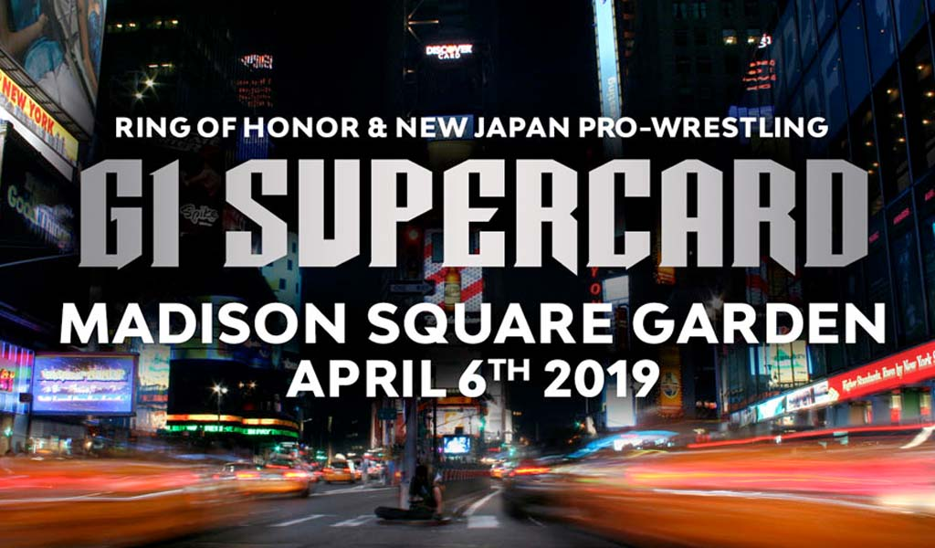 ROH/NJPW G1 Supercard PPV results from Madison Square Garden