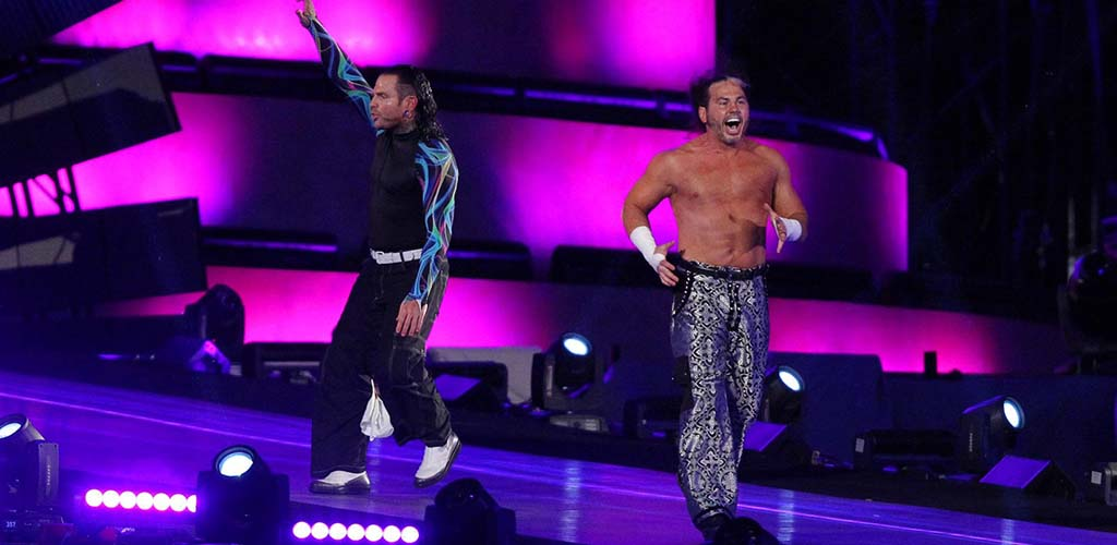WWE licensed footage from Impact Wrestling for upcoming Hardy Boyz DVD
