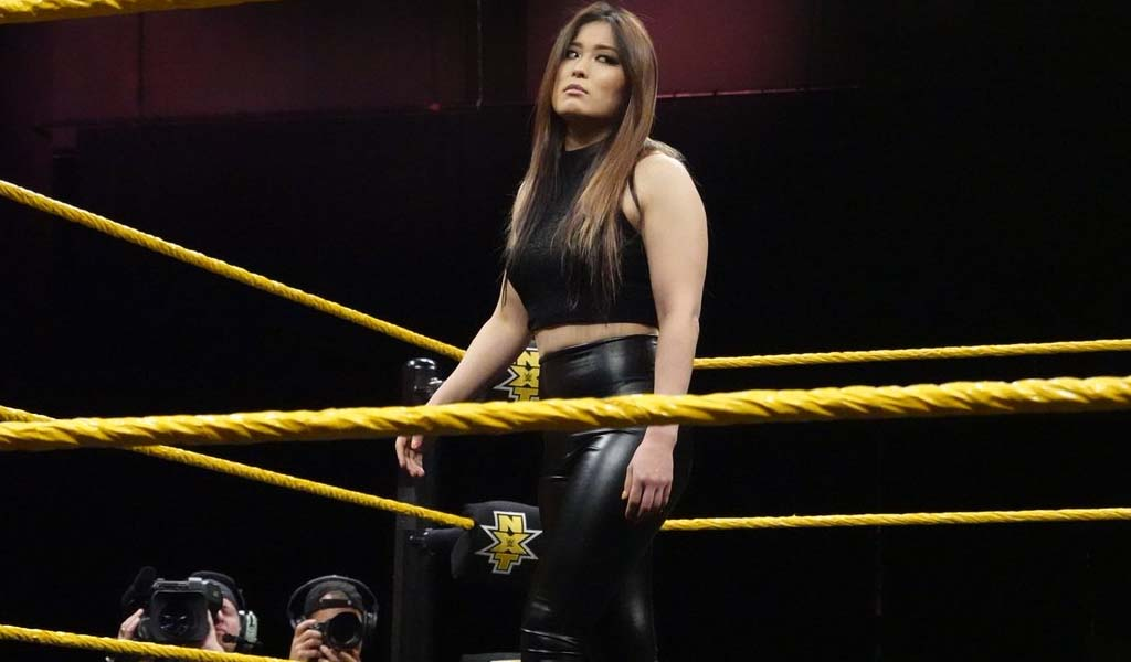 Io Shirai returns on NXT, qualifies for ladder match