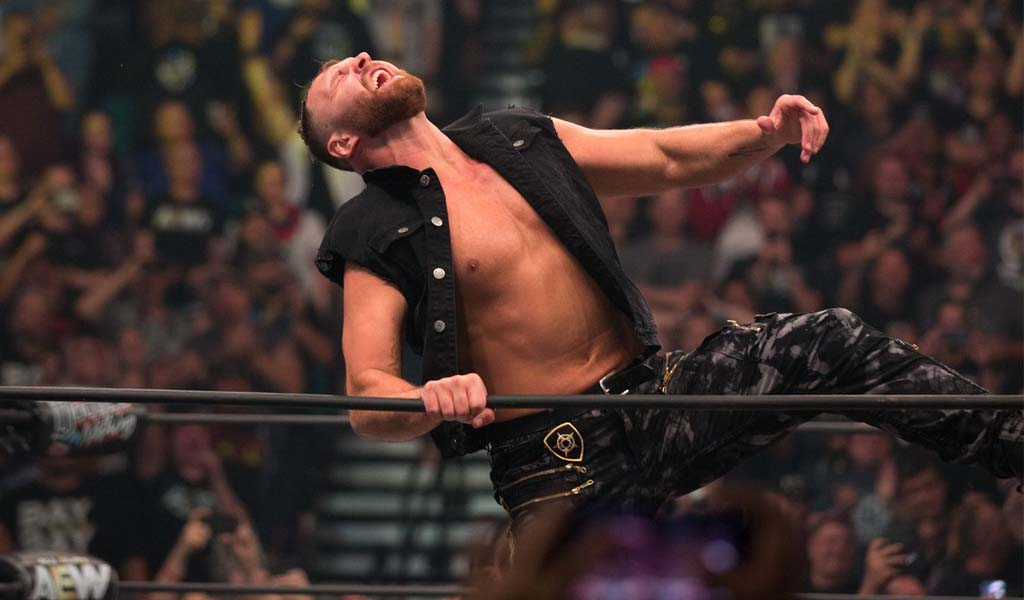 Jon Moxley wins the IWGP United States title at Wrestle Kingdom 14