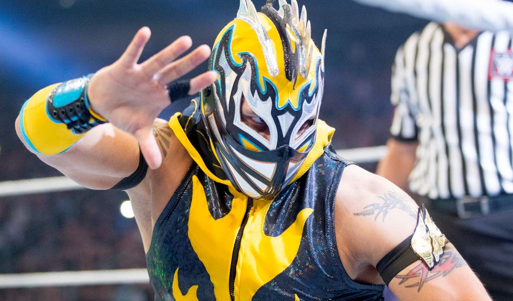 Kalisto hospitalized after fan throws bottle at him during 205 Live