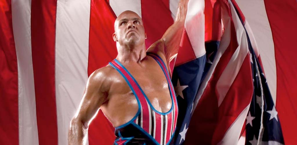 Kurt Angle sings his greatest hits at the WWE Hall of Fame ceremony