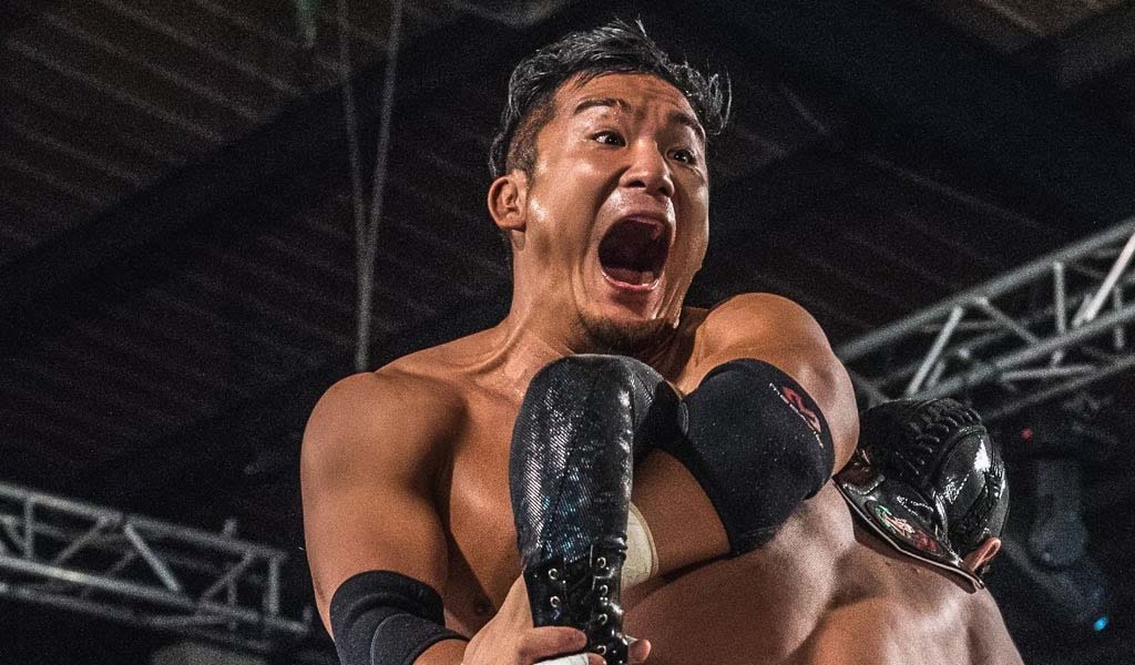 Kushida makes NXT debut during TV tapings