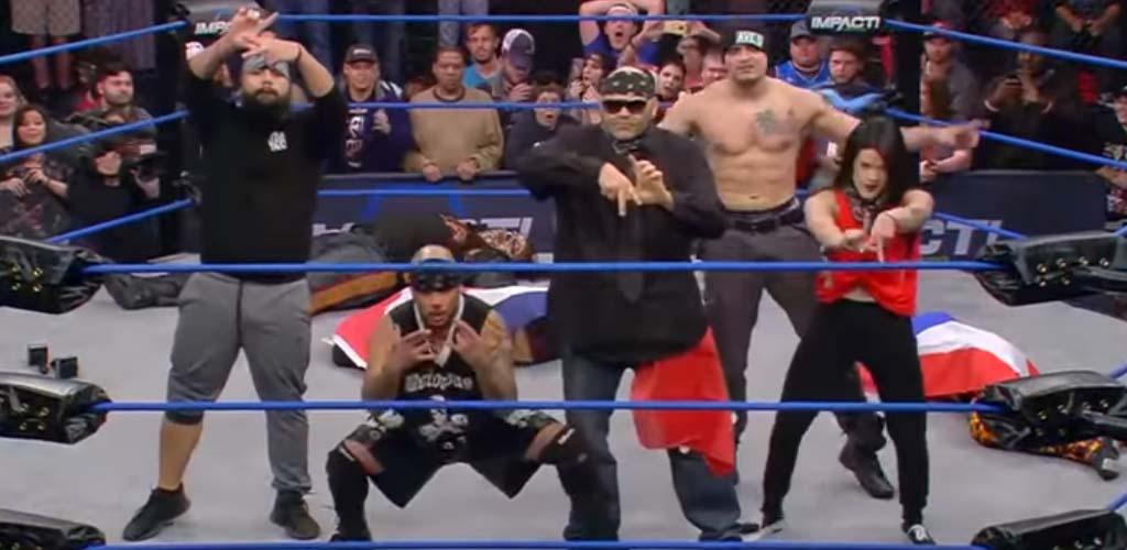 LAX returns to Impact Wrestling
