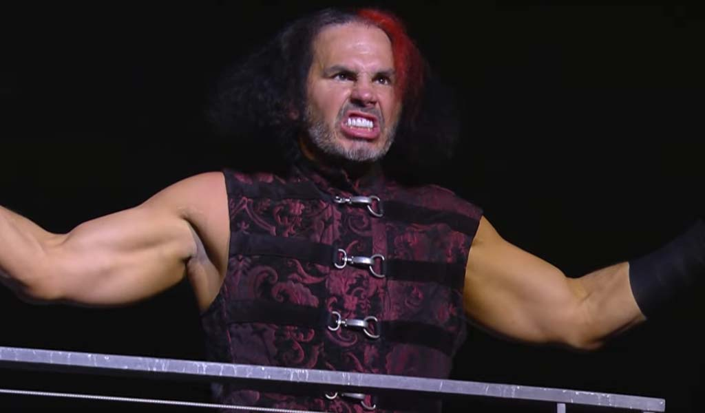 Hardy and Jericho come face-to-face tonight on Dynamite
