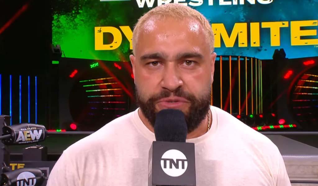 Miro to make in-ring debut on Dynamite tonight