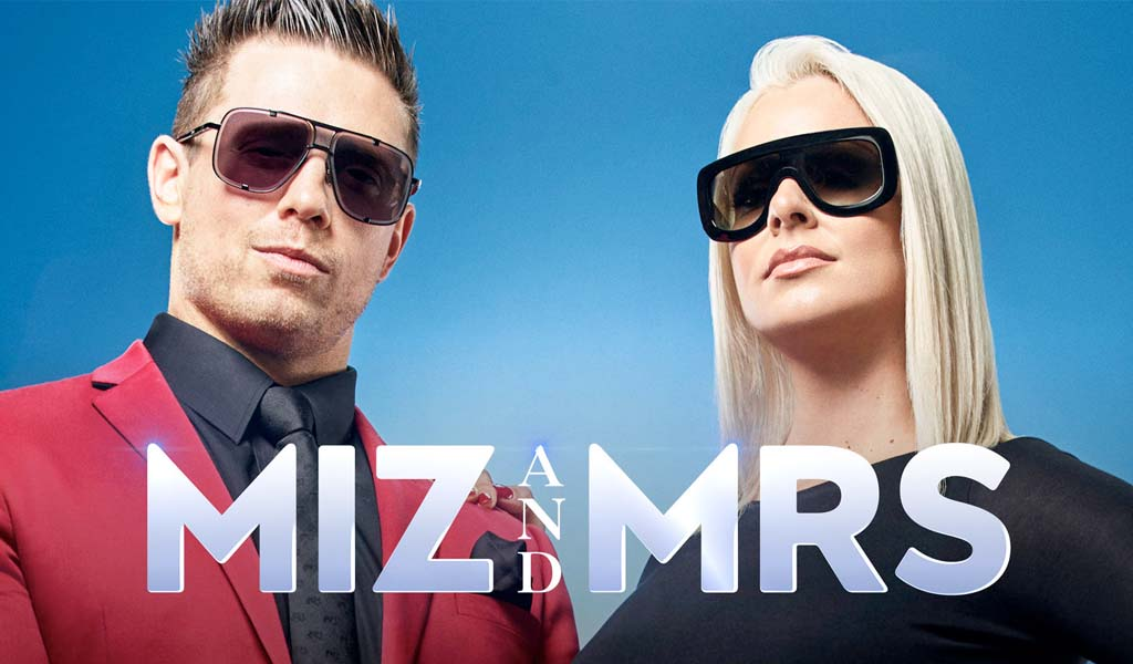 Miz & Mrs returning for season two on USA Network on January 29, 2020