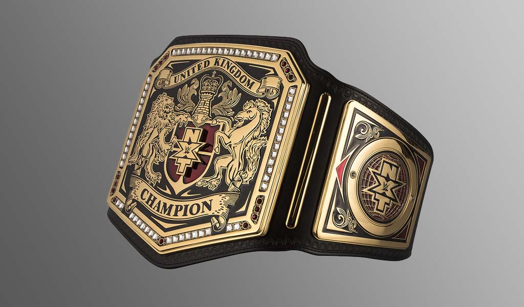 Stunning NXT UK title replica now available for purchase