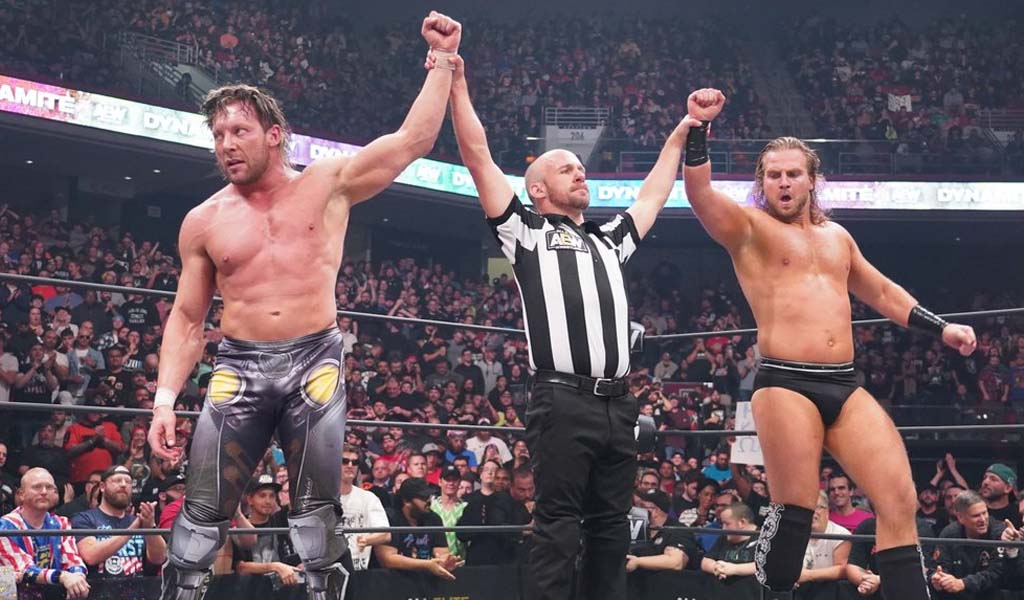 Tag team action dominates Dynamite tonight on TNT
