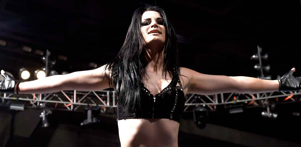 Paige discusses the bar fight with Alicia Fox during Comic Con Q&A session