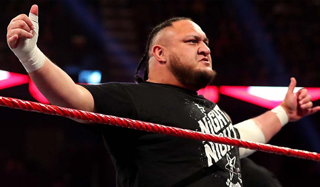 Samoa Joe suspended for 30 days for Wellness Program violation