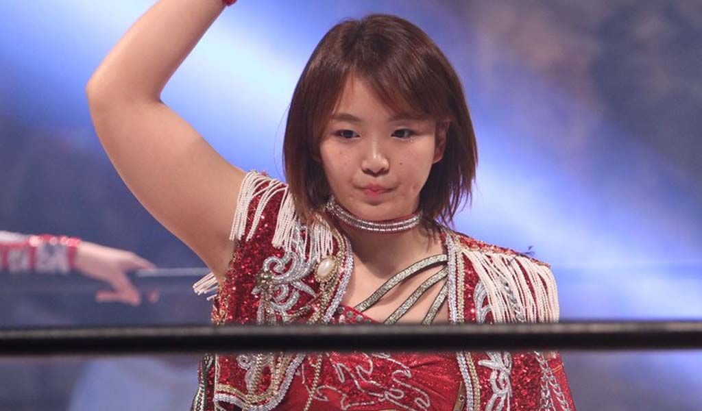 Japanese star Sareee heading to WWE