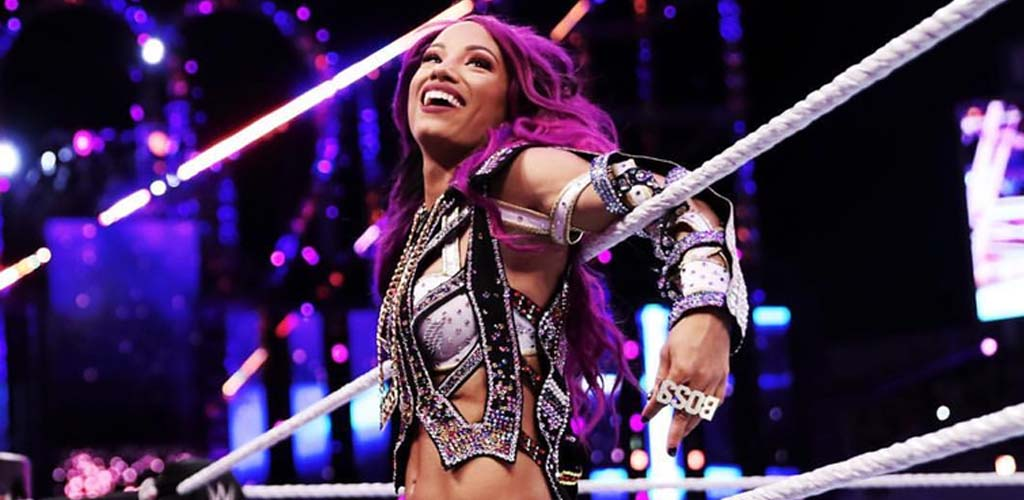 Sasha vs Bayley next week for a title match spot at SummerSlam