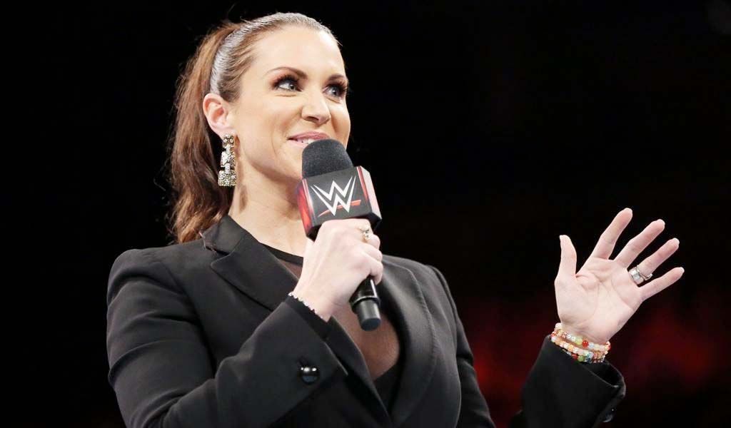 Stephanie McMahon touts the WWE female division at NBCUniversal Upfronts event