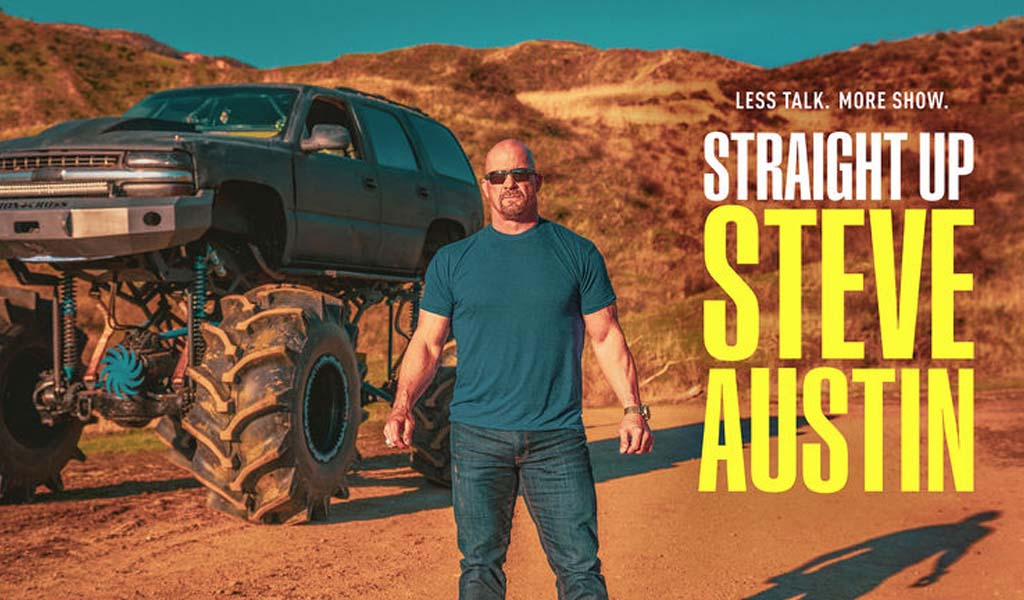 Becky Lynch on tonight's episode of Straight Up Steve Austin on USA Network