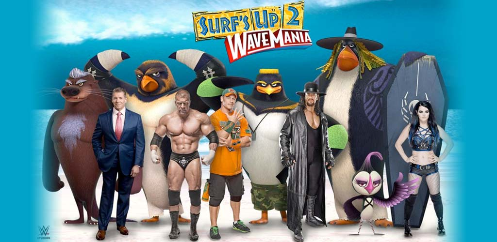 WWE Studios and Sony Pictures Animation announce Surf's Up 2: WaveMania