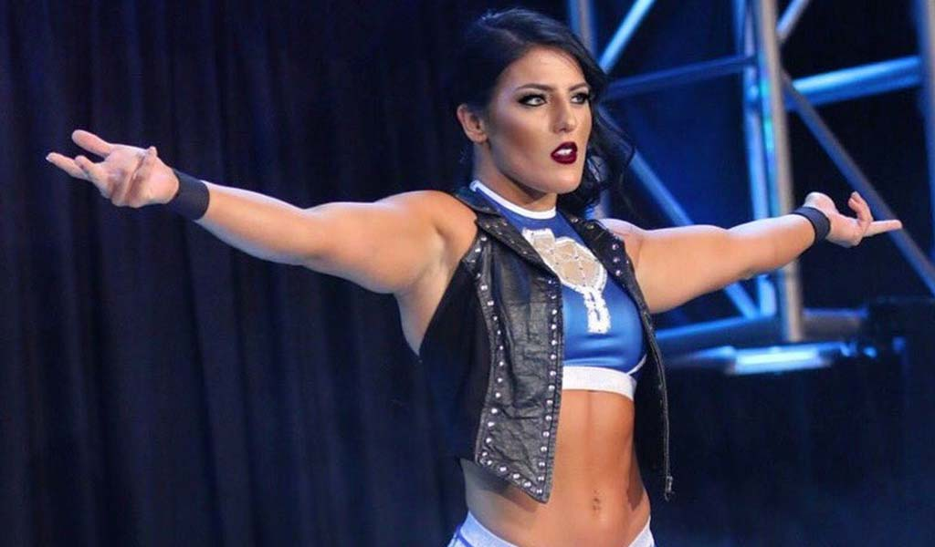Tessa Blanchard wins the Impact Wrestler of the Year award