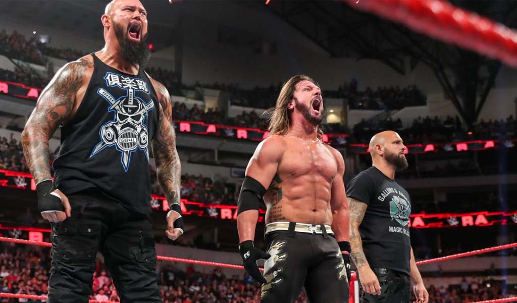 AJ Styles turns heel as The Club reunites on Raw