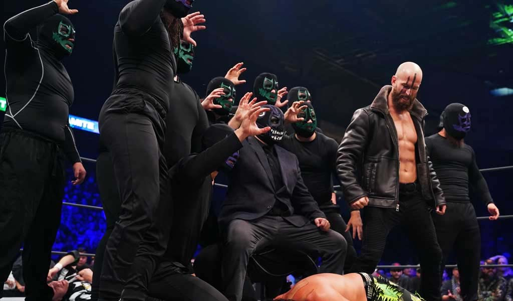 Evil Uno of The Dark Order teases Matt Hardy's arrival as their leader