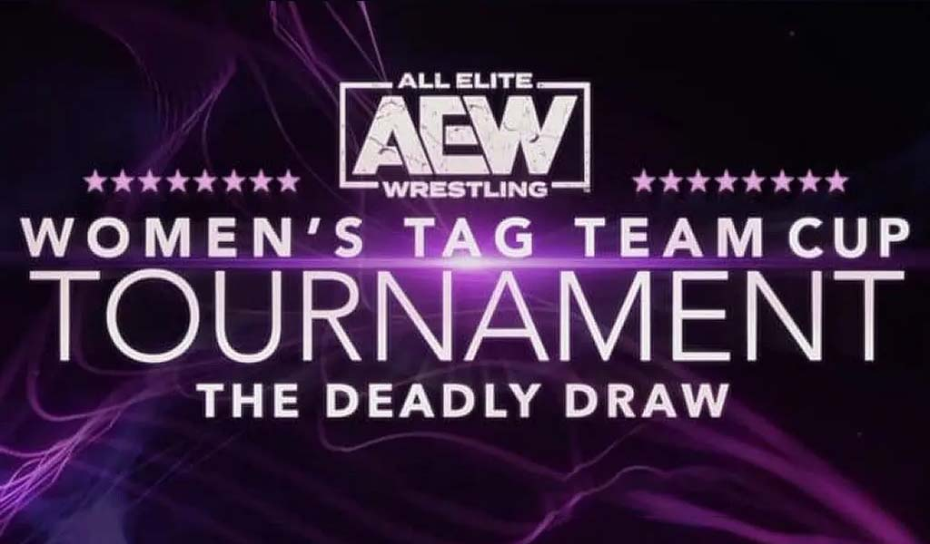 The AEW Deadly Draw women's tag team tournament begins