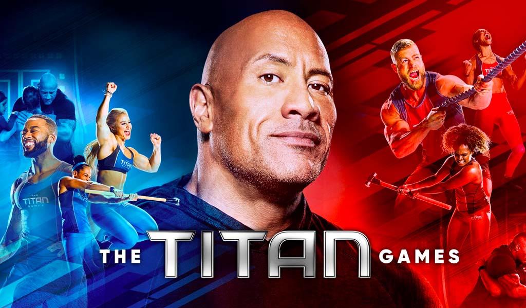 Dwayne Johnson back on TV tonight with season two of NBC's Titan Games