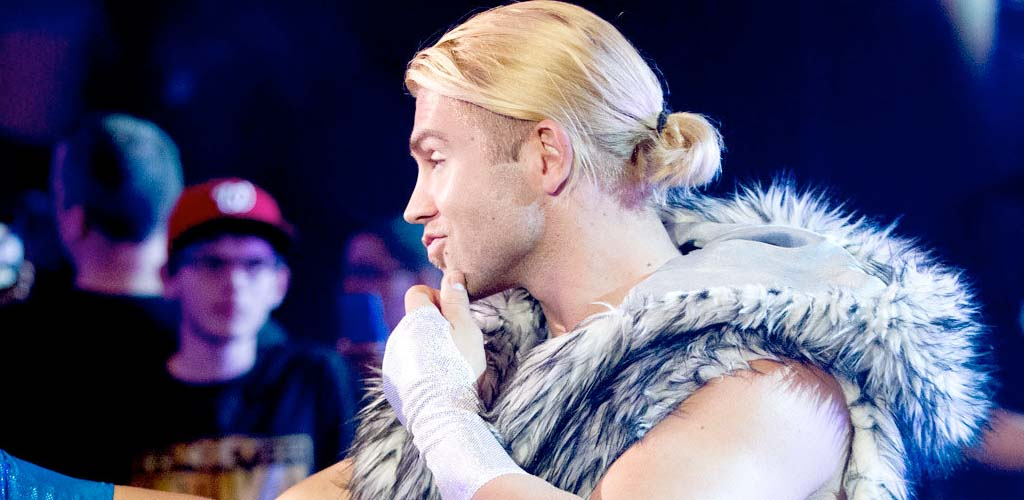 Tyler Breeze back full time in NXT