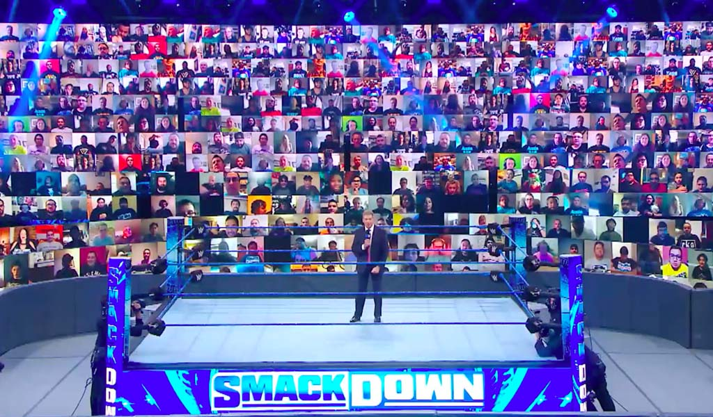ThunderDome virtual fans seats added for this Friday's Smackdown on FOX