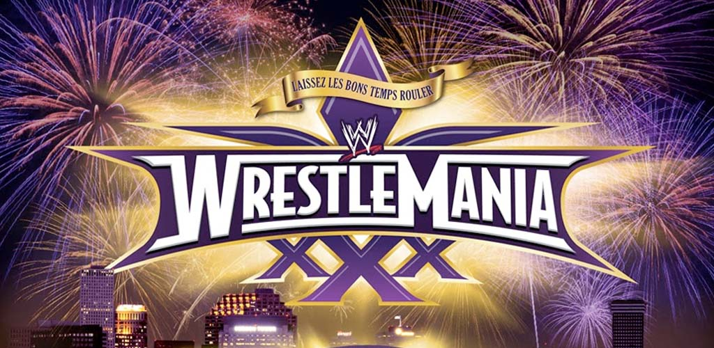 WrestleMania XXX live on WWE Network and pay-per-view tonight