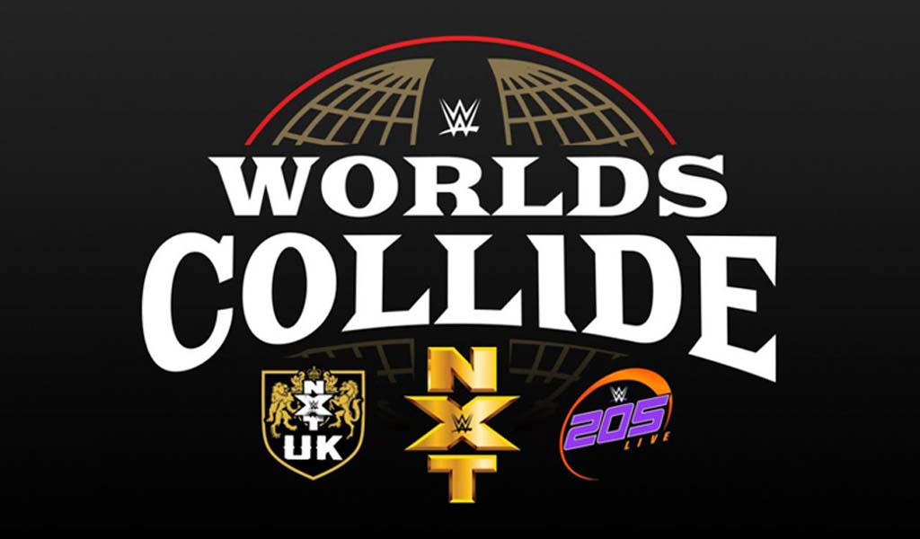 NXT vs NXT UK at Worlds Collide 2020 during Royal Rumble weekend