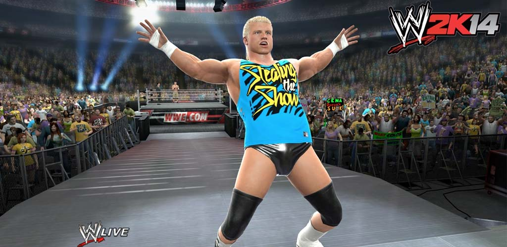 WWE 2K14 officially released today