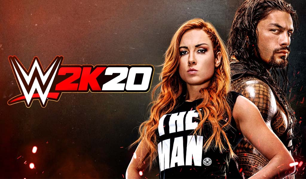 2K announces Becky Lynch and Roman Reigns as cover Superstars for WWE 2K20