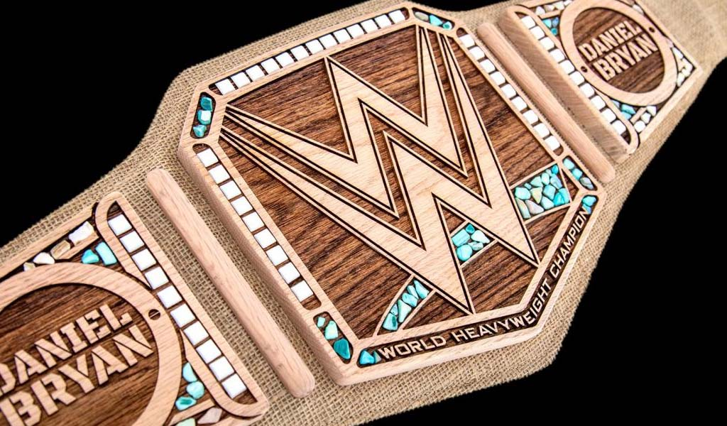Daniel Bryan's Eco-friendly WWE title replica now available for purchase