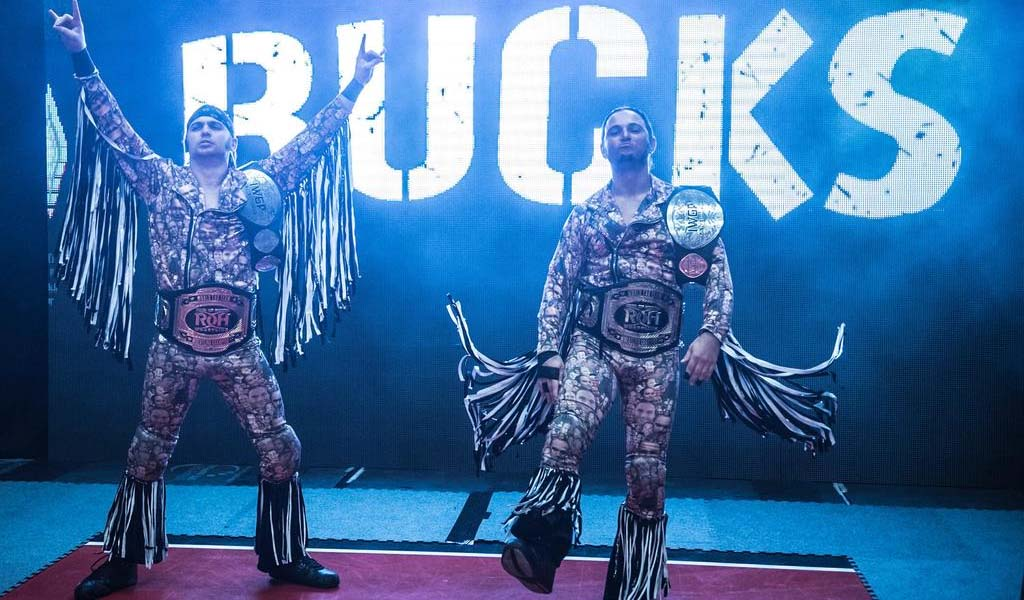 The Young Bucks lose the AAA Tag Team titles