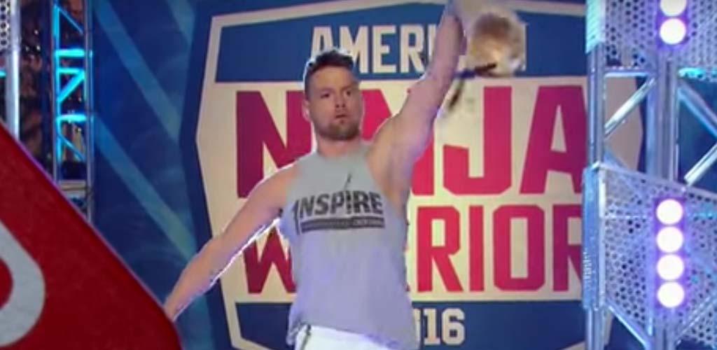 Former WWE and TNA star Zach Gowen does America Ninja Warrior